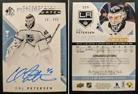 2018-19 SP Authentic Future Watch Autograph /999 CAL PETERSEN RC Auto L.A. Kings