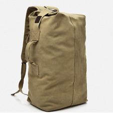 Large Men's Canvas Backpack Shoulder Bag Sports Travel Duffle Bag Hand Luggage