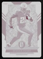 2017 Plates & Patches Gold Standard #8 Derrick Henry Magenta Printing Plate #1/1
