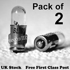 2x 6V 1.2W Speedo/Instrument Bulbs Lucas LLB 282 P282 BA7s 6 volt 1.2 watt [B07]