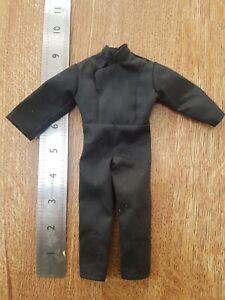 "1997 Star Wars Luke Skywalker 1/6 scale Black suit outfit for 12"" figure"