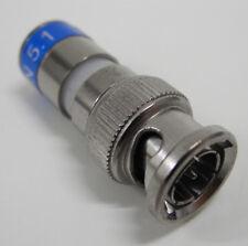 6 pezzi - CONNETTORE BNC COMPRESSIONE per CAVO COASSIALE 6,6mm - BNCC703 CAVEL