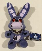 "NWT FNAF Five Nights At Freddy's The Twisted Ones BONNIE 8"" Plush Funko Toys NWT"
