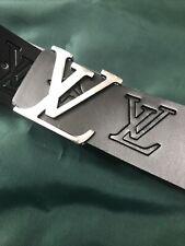 LV Black Mens Belt