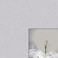 Crown Cotton Tweed Hessian Soft Grey Wallpaper M1116