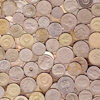 NICKEL COINS 1LB (454G.) MORE THAN 100 Ni COINS 1 POUND COLLECTIBLE COINS