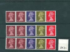 GB - MACHIN (20) - BOOKLET & COIL PANES - UNMOUNTED MINT