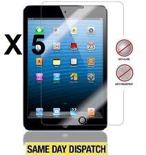 5 X APPLE iPad MINI 2 RETINA Anti-Glare Matte Screen Protector Cover & Cloth