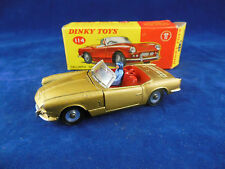 Dinky toys 114 Truimph Spitfire in Gold with Driver Superb Condition Near mint