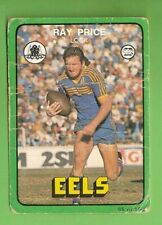Ray Price Parramatta Eels NRL & Rugby League Trading Cards