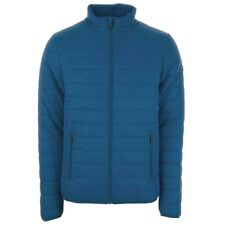 Henleys Demolition Men's Quilted Bubble Jackets in Five Colour and Sizes S Blue