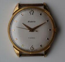 """RAKETA Vintage USSR Russia Gold 21 Jewels """"Rocket"""" Paketa"""