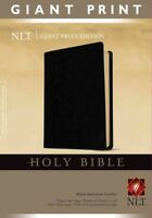 Holy Bible : New Living Translation, Black, Imitation Leather, Classic Text E...