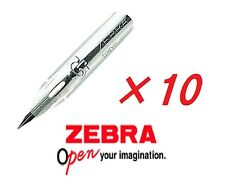 Zebra G pen Metal Nib 10pc For Writing Manga Comic Copperplate New Free Shipping