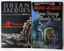 Lot 2 TPB by Brian Jacques: Ribbajack Haunting Yarns & 7 Strange Ghostly Tales