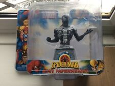Marvel Heroes Spiderman Bust Paperweight * SPIDER-MAN IN BLACK COSTUME * New