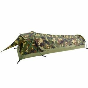 GEERTOP Ultralight 1-Person Waterproof Bivy Tent Camouflage