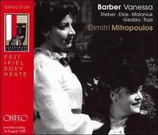 BARBER: VANESSA NEW CD
