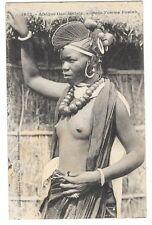 NUS ETHNIQUES afrique noire jeune femme Foulah seins nus