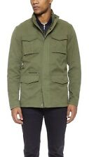 Vince 3-In-1 Military Jacket w/ Removable Quited Vest, Waxed Canvas~Mens L