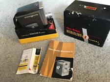 Vintage Movie Camera Mid Century Modern Kodak Medallion-8 Boxed And Inserts Nice