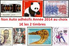 => Tous vos Timbres France Oblitérés Année 2014 Nouveautés Récents ! 1€ les 2 <=