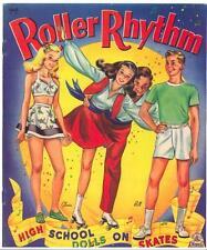 Vintage Uncut 1944 Roller Rhythm Paper Dolls ~Laser Reproduction~No.1 Seller