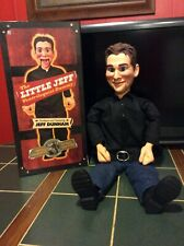 "Jeff Dunham LITTLE JEFF 30"" Ventriloquist Dummy Doll GENTLY USED, with box NECA"