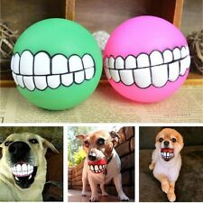 Indestructible Solid Rubber Ball Pet Dog Toy Training Chew Play Fetch Bite Toys