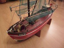 Modellbau Schiffe, Billing Boats, CUX 87, Krabbenkutter,