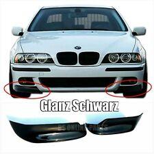 BMW E39 M Front Flaps Splitter Ecken Cupwings Schwarzglanz ABS E39 M5 blackgloss