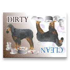 Gordon Setter Clean Dirty Dishwasher Magnet Dog New