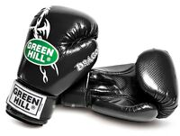 Greenhill Boxing Gloves Dragon Training Sparring Muay Thai Bag Pad Fight MMA UFC