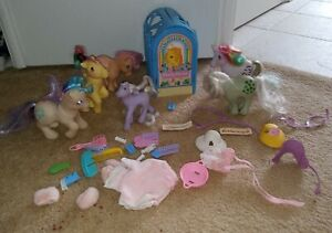 Vintage My Little Pony My Pretty Parlor and Ponies