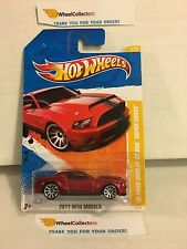 '10 Ford Shelby GT-500 Super Snake #3 * RED * 2011 Hot Wheels * N101