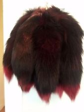 New Genuine Fur Tassel Bag Tag Accessory keyring Charm Fox Tail