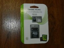 OEM Genuine Dane-Elec 2-in-1 Mobile MicroSDHC Memory Card Class 4 DA-2IN1-16G-R