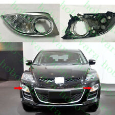 2pcs For Mazda CX-7 2009-11 Car LH&RH Front Bumper Front Fog Lights Corner Cover