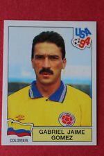 PANINI STICKERS USA 94 WORLD CUP N. 60 GOMEZ COLOMBIA NEW WITH BACK VERY GOOD!
