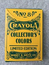 Vintage No 8 Limited Edition 1991 Collector's Colors CRAYOLA-Binney&Smith