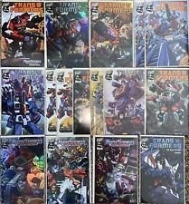 Transformers Comic Lot NM Dreamwave Holofoil, Retailer, Armada, War Within 1 2