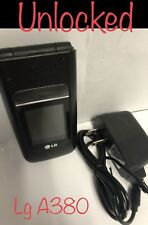New listing Lg A380 At&T Flip Phone - Gsm Unlocked For Most Compny And Country