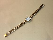 vintage Watch MONTRE YEMA uhr LADY femme 02-TC9-3 dorée GOLD
