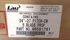 """~Discount HVAC~ LI-60561701 - Lau 24"""" Propeller CW 27 Pitch 5 Blade"""