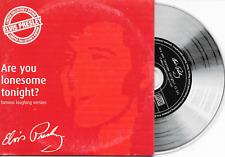ELVIS PRESLEY - Are you lonesome tonight? PROMO CD SINGLE 1TR Dutch Cardsleeve