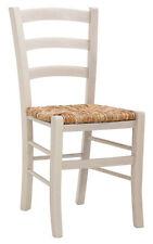 sedia in legno massello impregnato noce.