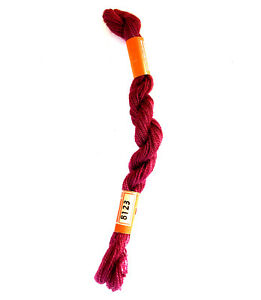 Cross Stitch Wool Yarn DMC Laine Medicis #8123 25 meters 27.3 yards Red Crewel