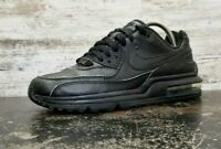 Youth Nike Air Max Wright Athletic Shoes Sz 6Y Eur 38.5 Used 317934 002 Black Le