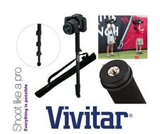 """Vivitar 67"""" Photo/Video Monopod With Case For Sony HDR-XR155e HDR-CX155e"""