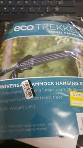 Hammock Hanging System with Straps and Carabiners NEW IN PACKAGE